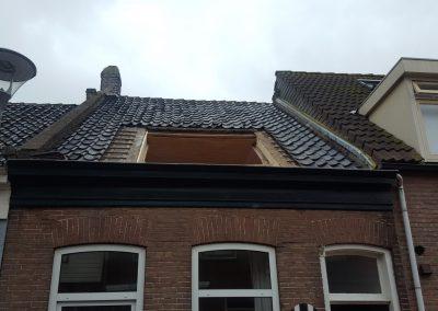 Dakkappel gat in dak